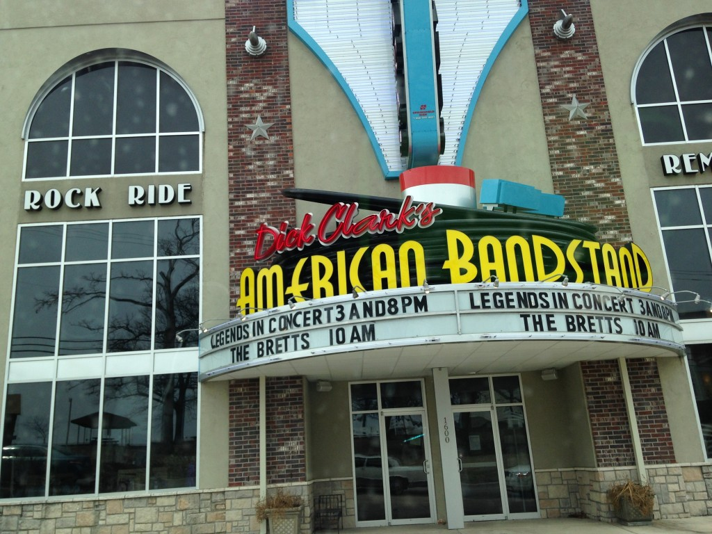 Exterior of Dick Clark's American Bandstand Theater; photo courtesy of Frank Perez