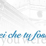 """Vorrei Che Tu Fossi Qui"" poster, courtesy of Jessica Edwards"