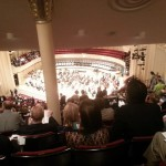 At the Chicago Symphony Orchestra