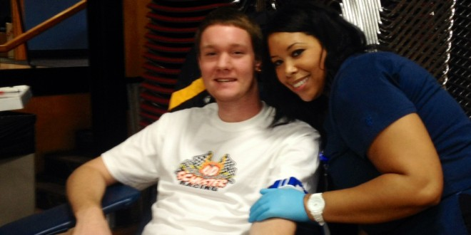 Life Serve Blood Center Comes to Visit GU