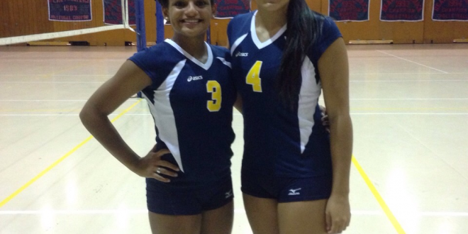 Puertorican Duo gives Flavor to the Volleyball Season
