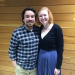 Chris Ortiz and Lindsay Foster are all smiles at KCACTF.
