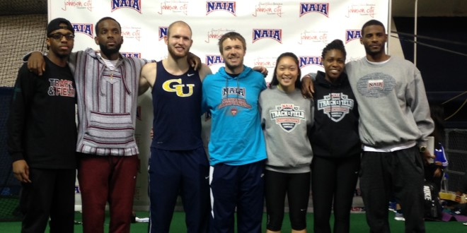 Graceland Athletes Compete at NAIA Indoor Track and Field Nationals