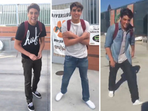 High schooler, Joshua Holz, vined his friend, Daniel Lara's outfits and commented on the white vans he was sporting quite well.