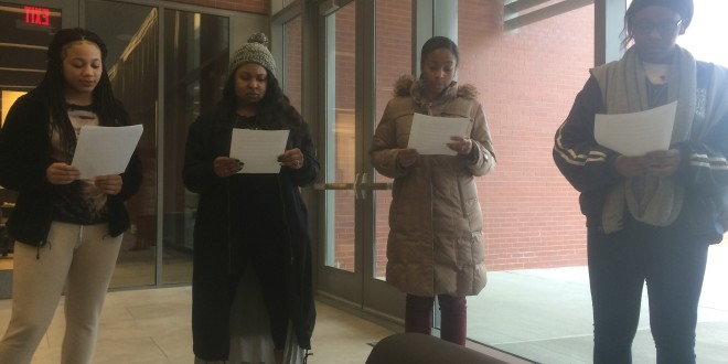 "BSU ""Tunnel of Oppression"" Event 2: Underground Railroad/Emancipation Proclamation"