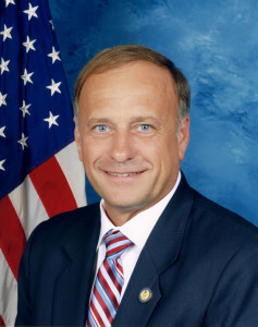 Current Republican Representative of Iowa, Steve King, who attempted to ammend DACA in 2013.