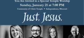"""Just. Jesus."" & GU Choirs @ the Temple"