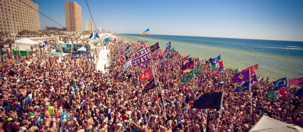 12 Signs Spring Break Is Close Daytona Beach Vs Virginia